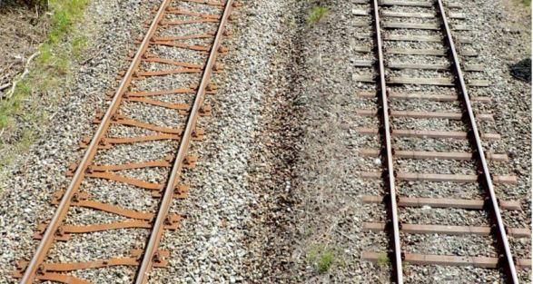 Y-shaped-sleeper-lateral-resistance-railway-track-permanent-way-maintenance-steel-buckling-CRT-critical-rail-temperature-management