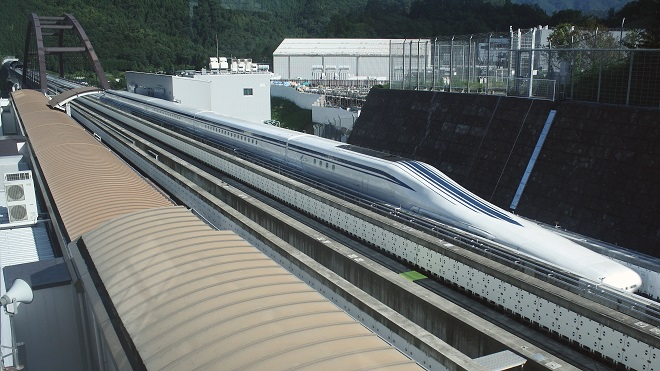 Series L0 Maglev Train - the holder of the highest speed record